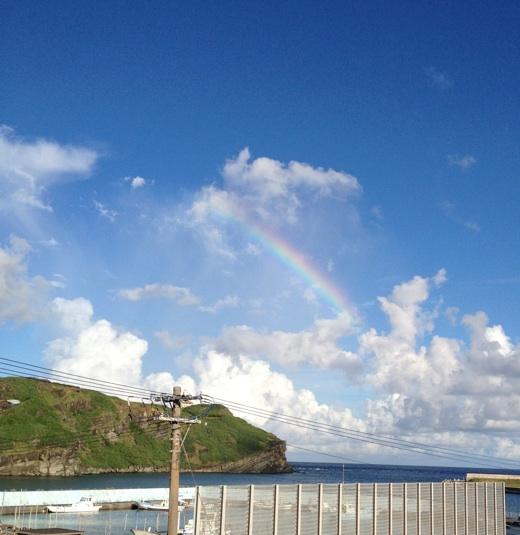 与那国島の虹